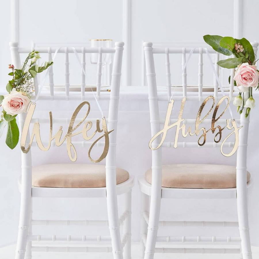 Chair covers and sashes aren't for everyone – if you want a different way to dress up your wedding chairs, you're in the right place.