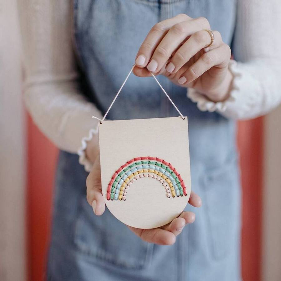 What's your favorite color? How about all the colors? There's no better way to banish doom and gloom than by covering your home or your wardrobe with some gorgeous, colorful rainbows.