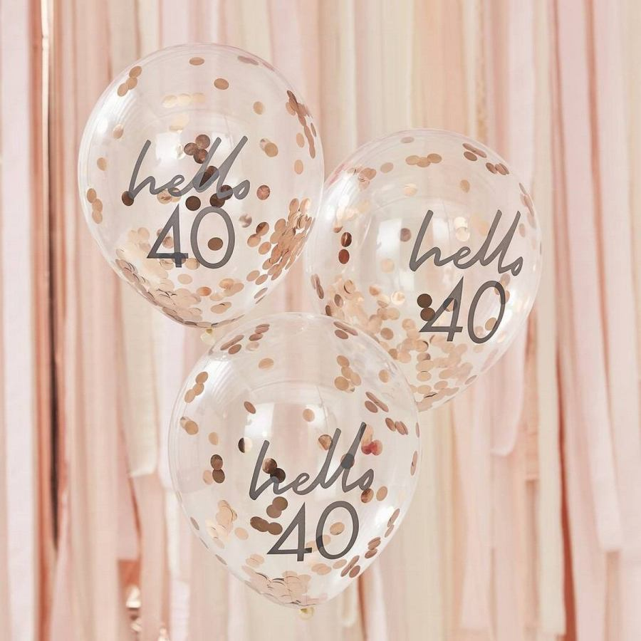 Balloons are as much a part of birthday celebrations as cake and gifts, and a 21st birthday is no exception.