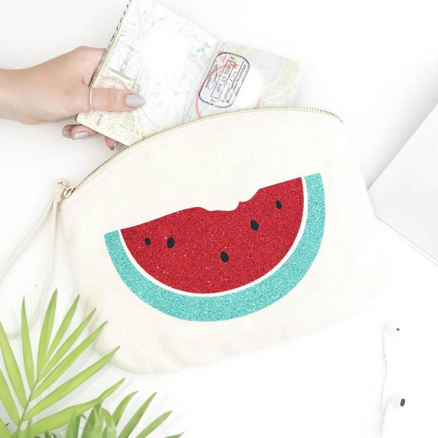 There's nothing that signals summer quite like a good, refreshing watermelon. Whether you want to eat it, drink it, or incorporate it into your wardrobe, here are some fun watermelon products that will let you satisfy your sweet tooth.