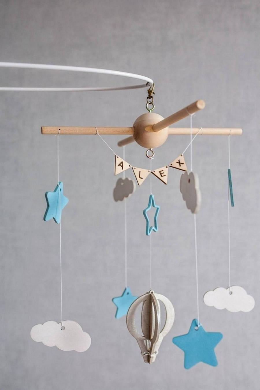 It's a given that baby mobiles are decorations, and their details and colors enrich the lives of parents and infants - and everyone knows that babies can be soothed by slow moving mobiles, and entertained my more active mobiles.