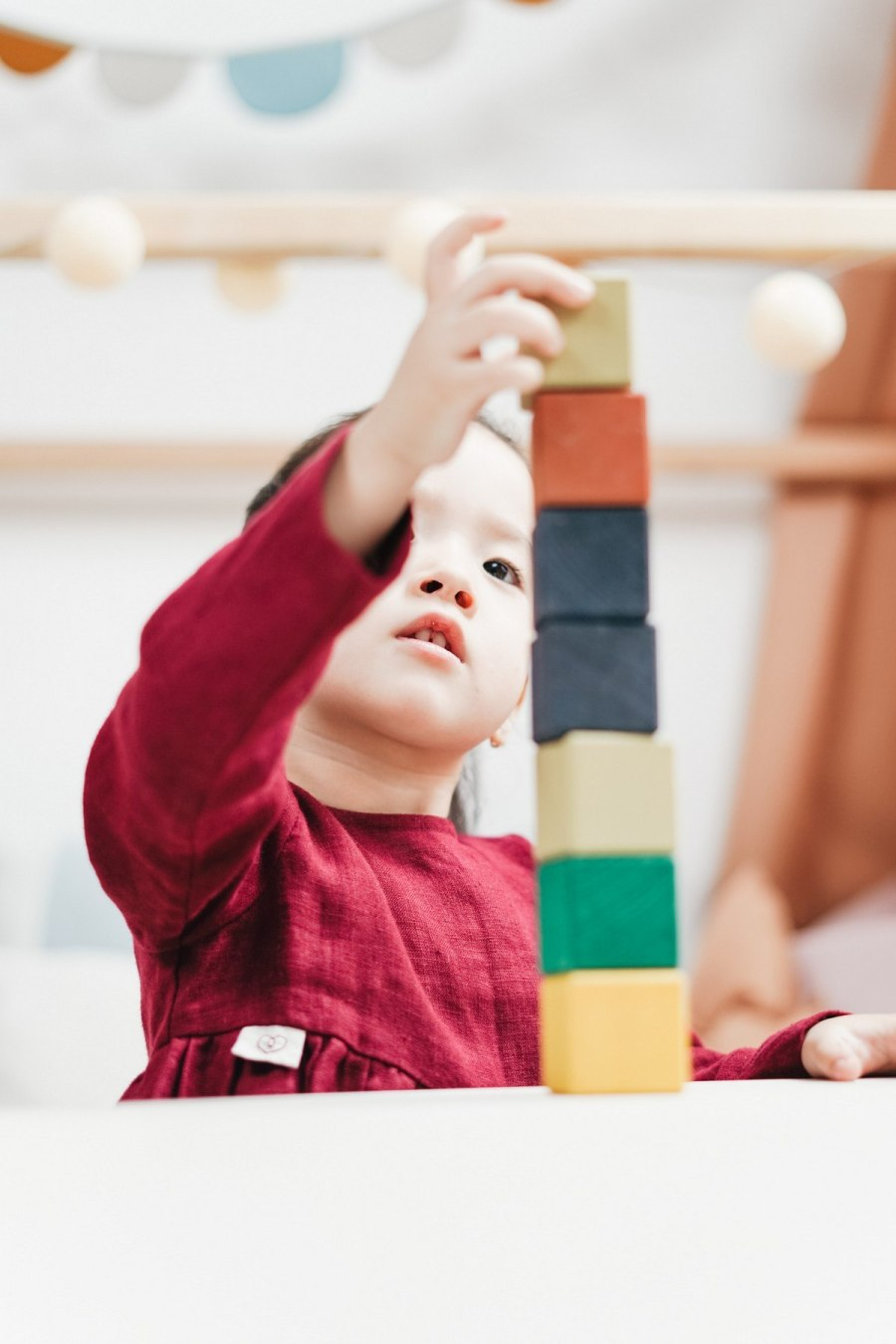 Many early childhood educators believe that every classroom should have a full set of unit blocks, assorted props tied to children's current interests and experiences, open storage shelves, and plenty of space and time to build and rebuild invented and familiar structures.