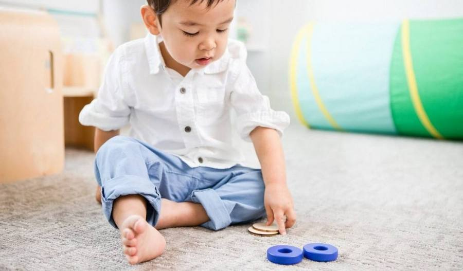 "We can all easily recognize the big skills emerging—walking, talking—but in between, there is a more nuanced progression happening in your toddler's brain. These cognitive connections are the building blocks for the more obvious ""milestones."""