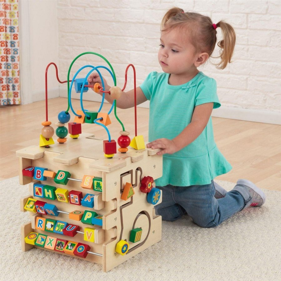 Activity cubes are often a great way to keep a younger child busy and entertained. But they're far more than a simple diversion. Activity cubes also have a variety of developmental benefits.
