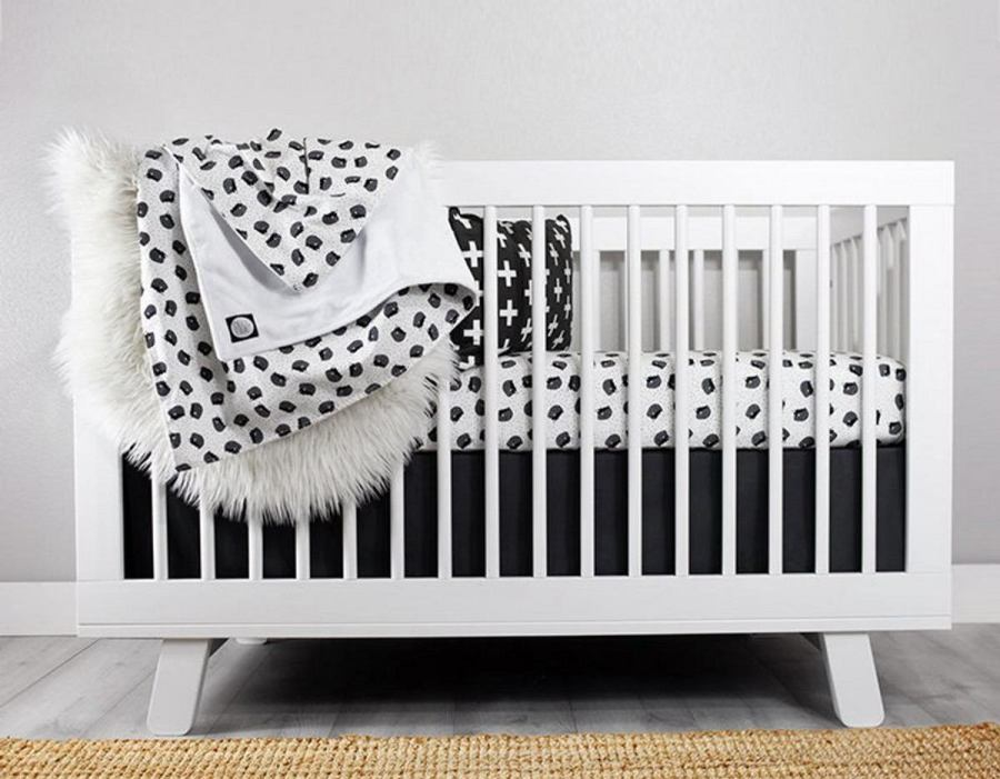 There's such a case to be made for white nurseries. They're fresh and clean, just like your new baby.