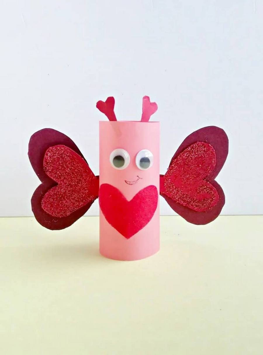 These baby butterflies are especially perfect for a sunny spring day or a rainy day indoors project.
