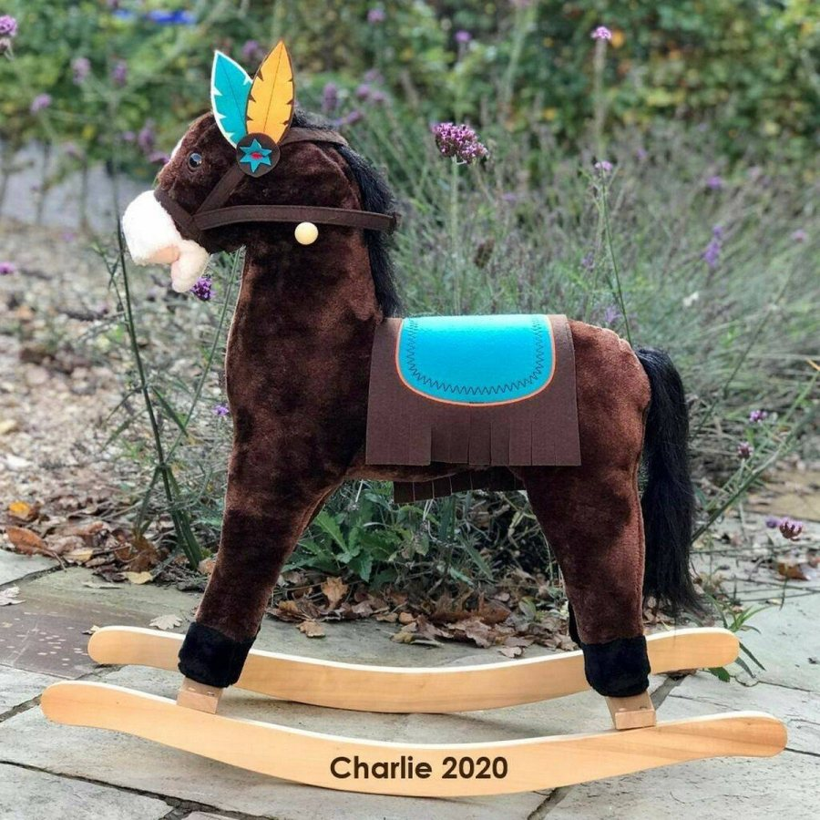 Rocking horses are one of the classic toys that generations of children have used for a fun time. In addition to being whimsical fun, they help toddlers improve motor skills, balance, and coordination.