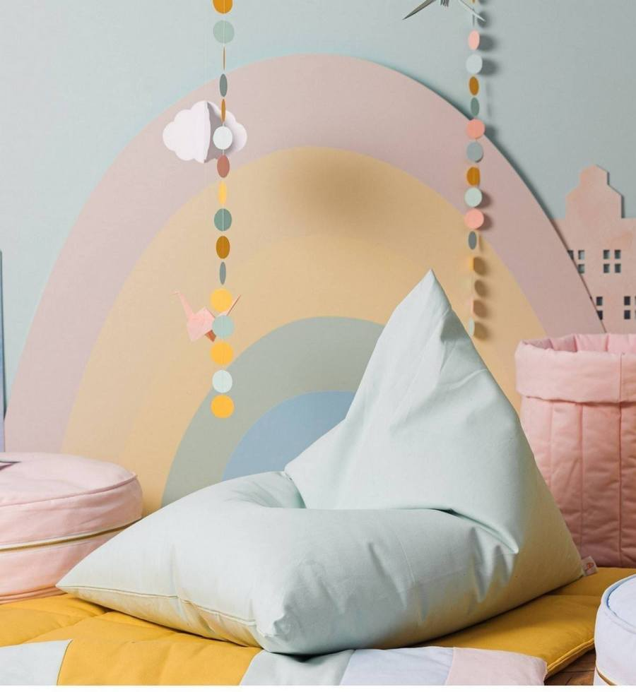 As families spend more time at home, adding some comfortable and versatile seating can spruce up your living room, playroom, or kids' rooms. You can find bean bag chairs in all different sizes, shapes, and price points, so find the right one for you and your child.
