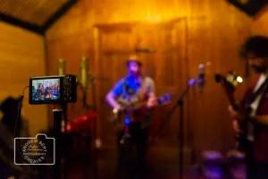 A camera recording the Lost Trades