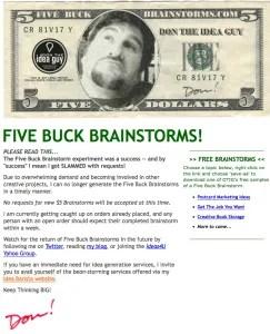 5-dollar-brainstorm