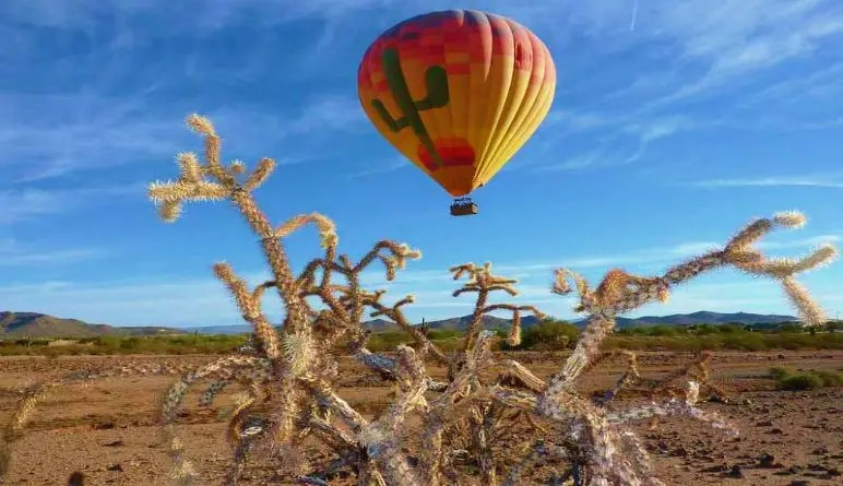 Hot Air Balloon Rides Phoenix