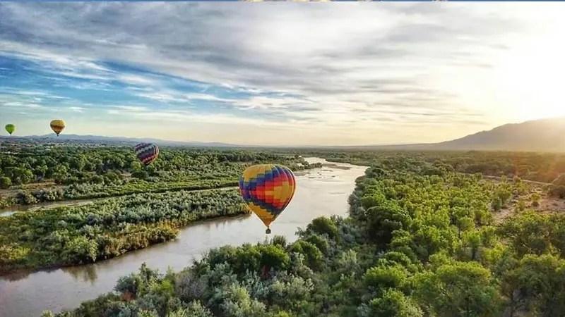 Sunset Hot Air Balloon Ride Albuquerque