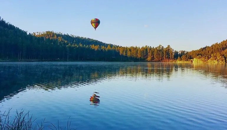 Hot Air Balloon Ride Black Hills South Dakota