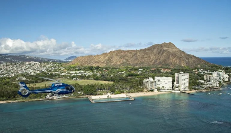Forty Five Minute Helicopter Tour Oahu