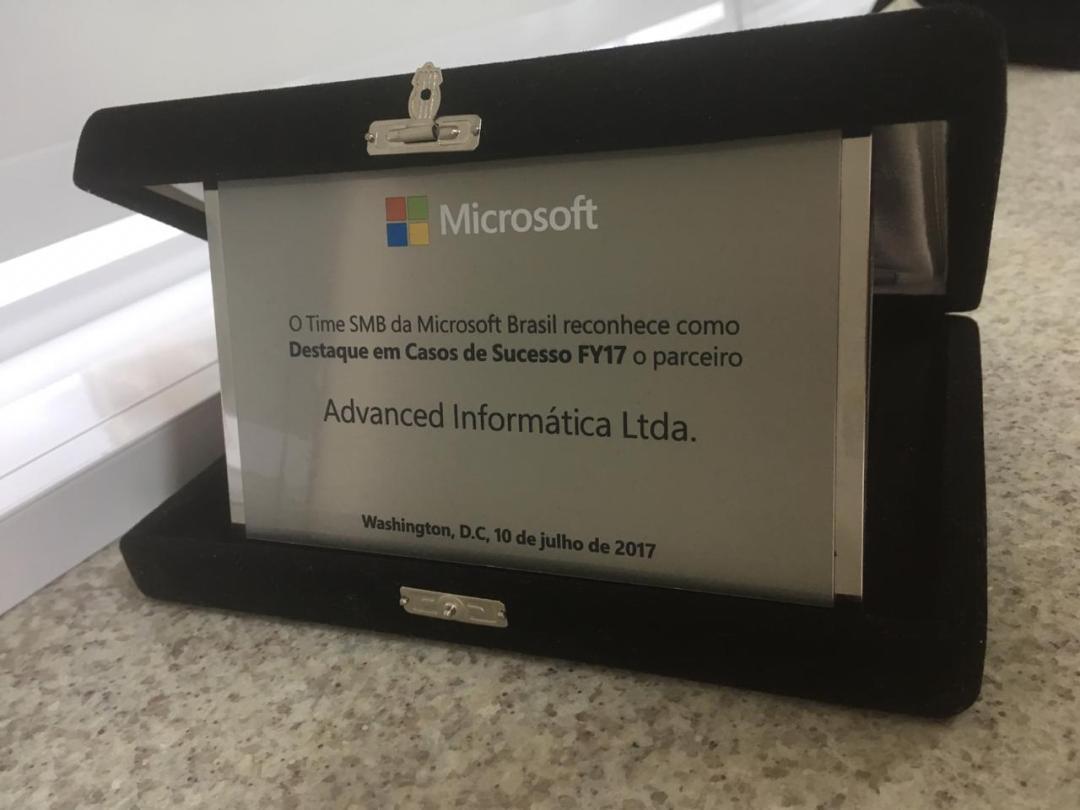 Prêmio Microsoft 2017
