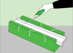 Tavan kliniğinin köşelerini nasıl yapıştırılır
