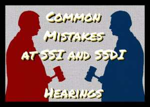 Common Disability Hearing Mistakes