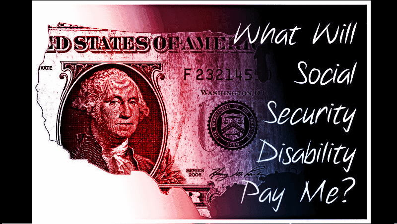 The amount paid by the Social Security Administration varies depending on your work status over the previous 10 years.