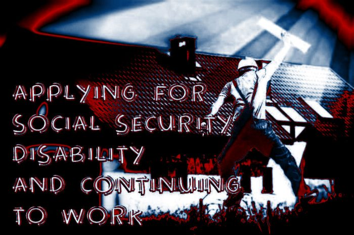 SOcial Security Disability Applications and Working can be tough but doable.
