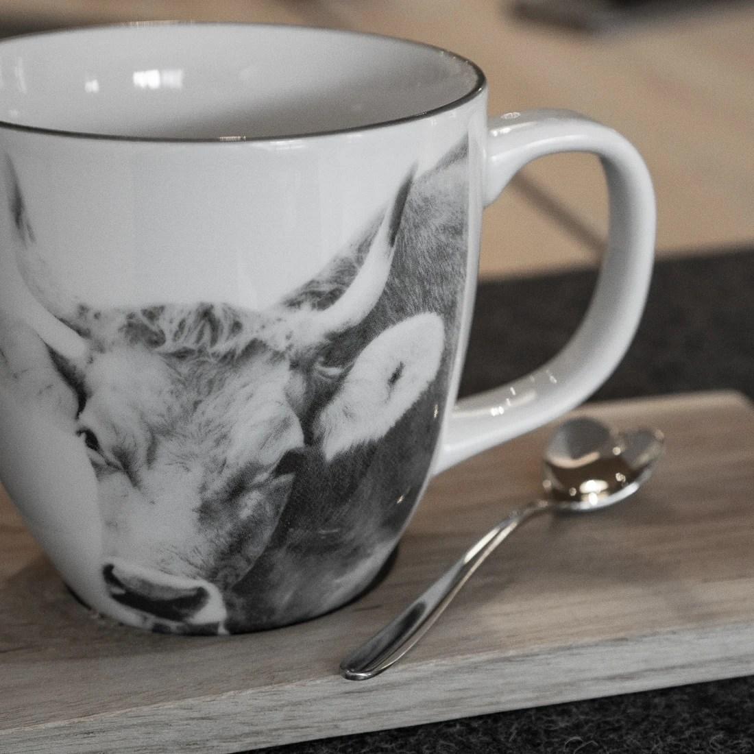 Tasse Mug Kaffee Kuh Alpenkuh