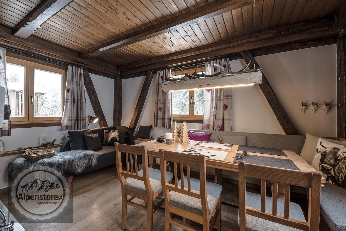 Vorher Nachher Photos Alpenstore Dekoration im alpinen Stil Landhausstil Inneneinrichtung Re-Design Alpendekoration In den Bergen
