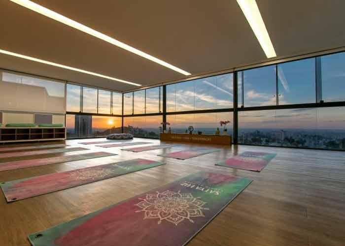 Espaço de Yoga mais confortável