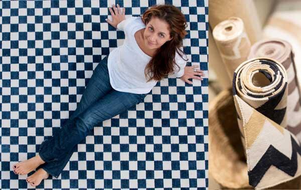 A produção artesanal das peças Square Foot