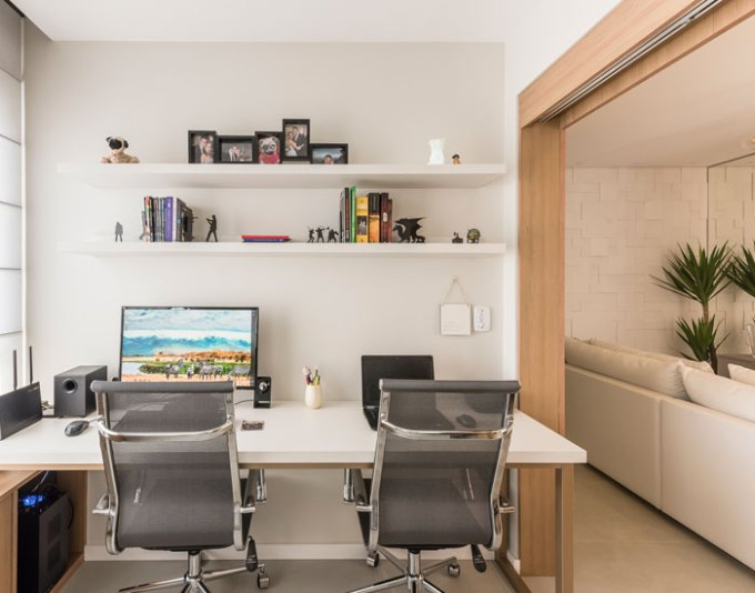 Home office produtivo Todeschini