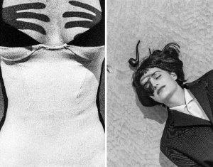 Miro em preto e branco