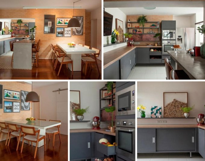 Cozinha informal de Pati Cillo