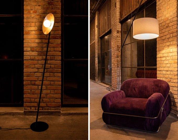 Design mineiro de iluminação
