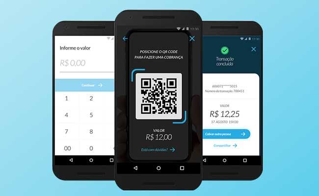 Pagamentos com QR Codes e TXT
