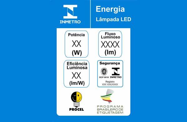 Decifrando as informações das embalagens de lâmpadas LED