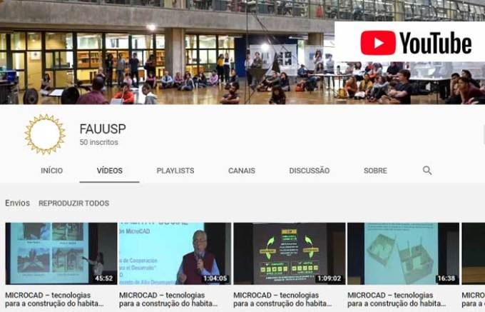 FAUUSP no YouTube
