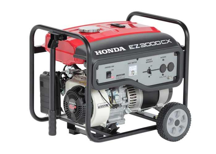 Novo gerador Honda EZ3000