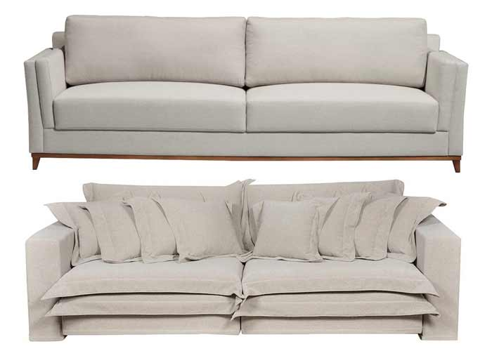 Patrícia Hagobian escolhe o sofá