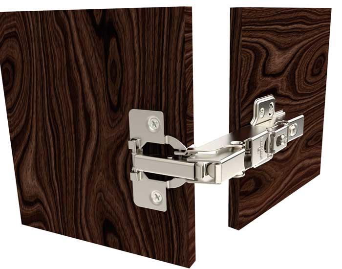 Soprano apresenta dobradiça para portas em ângulos especiais