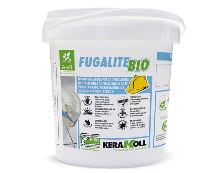 Fugalite Bio é hipoalergênico e inibidor de bactérias da Cimentolit Kerakoll