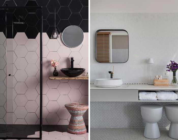 Cerâmica Atlas em Banheiros originais