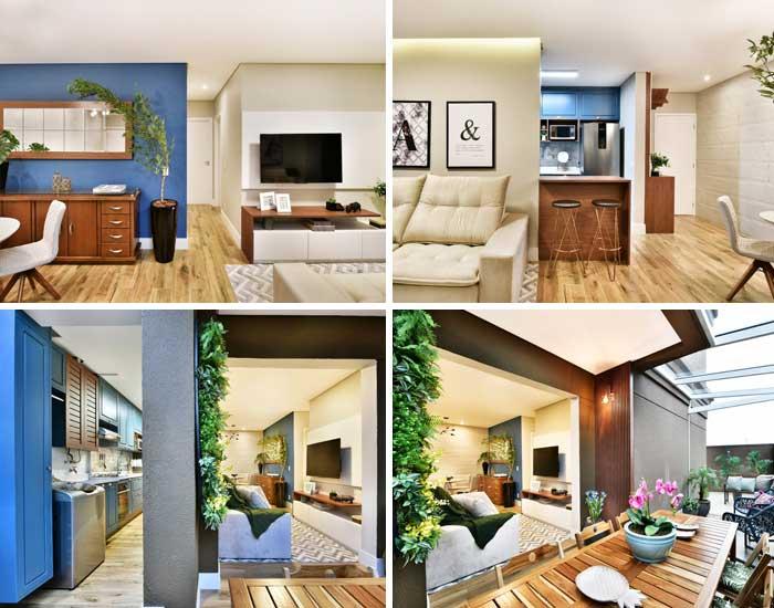Apartamento Garden pelo Studio M&A