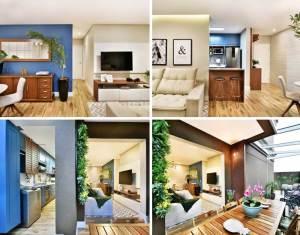 Apartamento Garden pelo Studio M & A