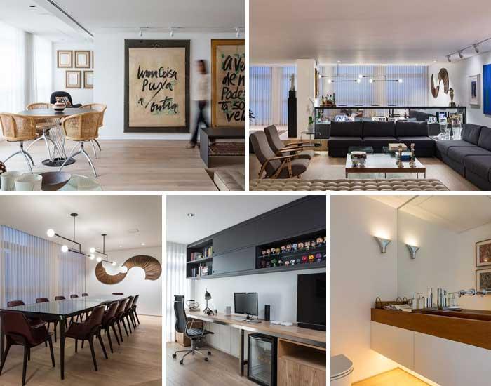 Apartamento MF pelo Reinach Mendonça