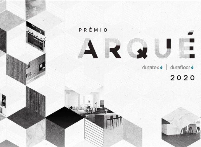 Até 11/10 – Prêmio Arqué Duratex