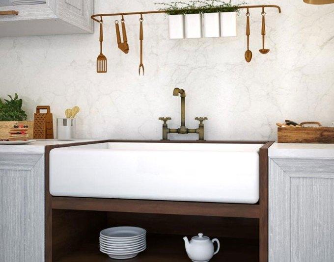 Fani Metais: água quente na cozinha e no banheiro