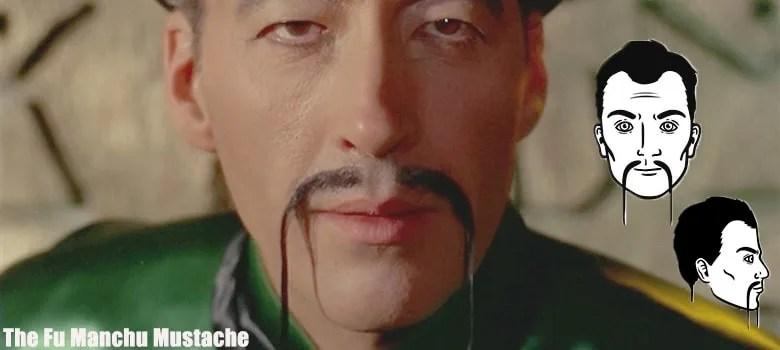 fu manchu mustache