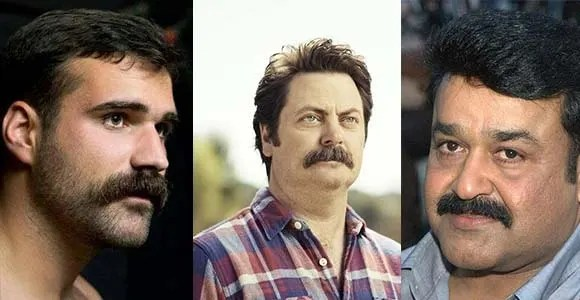 Popular Chevron Mustache Style