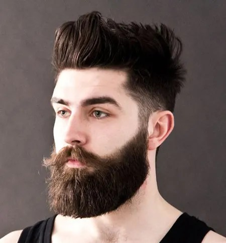 Macho beard