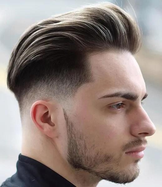 Medium Length Hair Blow Dried Back