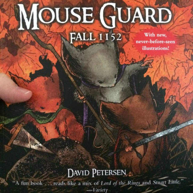 Mouse Guard Fall 1152 cover