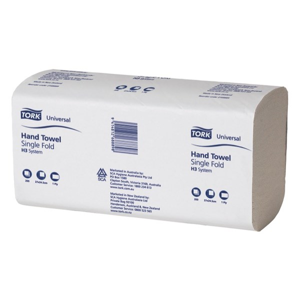 Tork Classic Basic, Paper Towels, 1-ply
